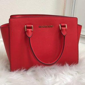 Michael Kors Red Purse/Bag